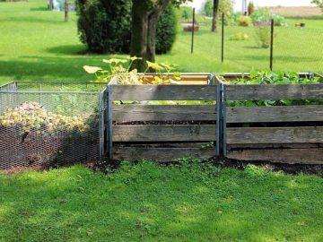 Wie baut man einen Komposthaufen?