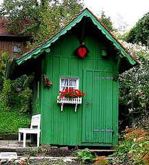 Ein Gartenhaus selber bauen - hier die Anleitung