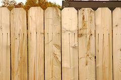 Einen Gartenzaun aus Holz selber bauen - so geht´s Schritt für Schritt