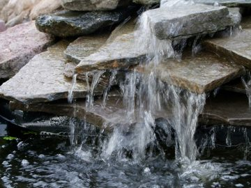 Einen eigenen Teich mit Wasserfall selber anlegen - hier die Anleitung!