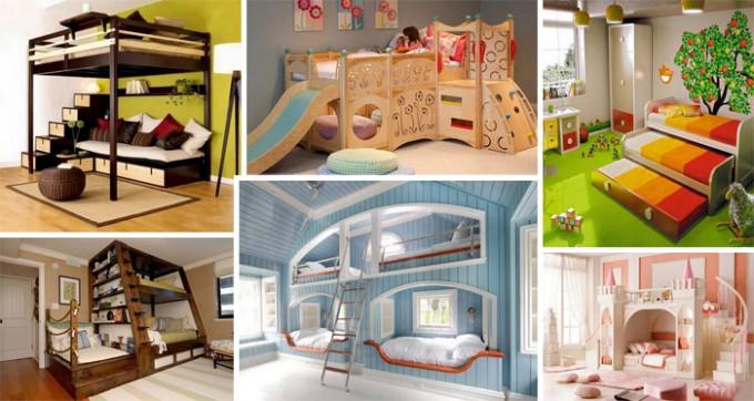 21 moderne Ideen für Etagenbetten