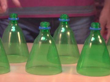 """Eine """"Klimaanlage"""" aus einem Ventilator und Plastikflaschen basteln"""