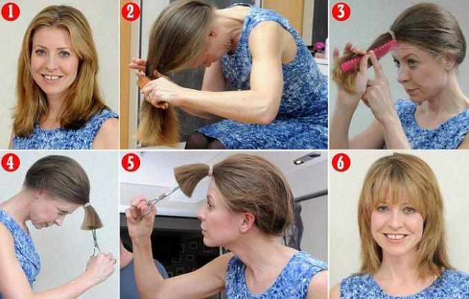 Haare selber schneiden: So klappt es zu Hause ohne Friseur – ACHTUNG, nur auf eigene Verantwortung ausprobieren