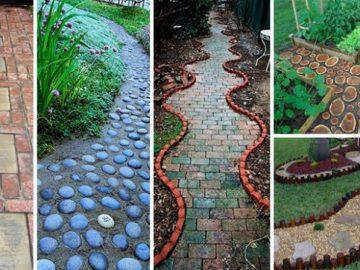 24 Inspirationen für Gartenwege