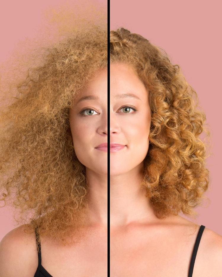 Feuchtigkeit für krauses Haar Haarkur mit warmem Öl selber machen