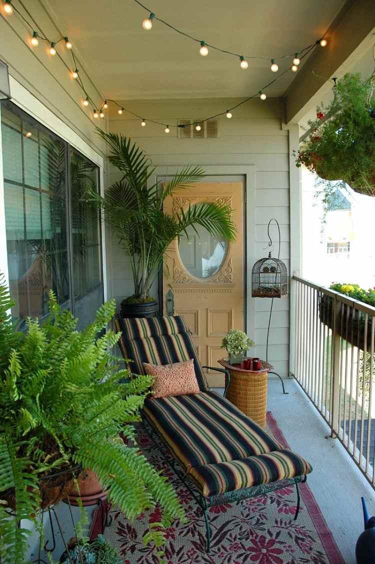 Liegefläche Balkon bauen DIY Liegestuhl Anleitung