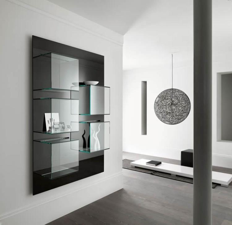 moderne-wohnzimmermobel-ideen-glasregale-vitrin-tonelli-design