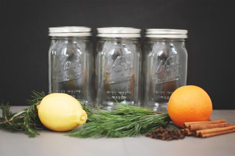 raumduft-selber-machen-bio-glasbehälter-zitrone-orange-zimt-nelken